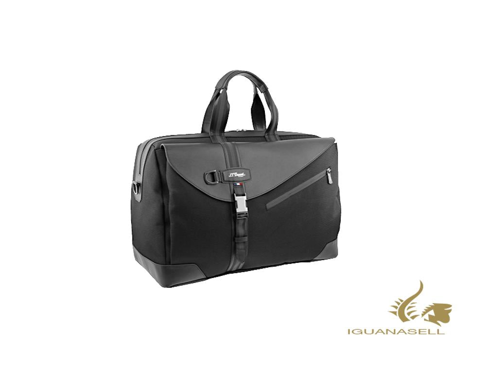 S.T. Dupont Défi Millenium Travel bag, Leather, Black, Zip, 174009