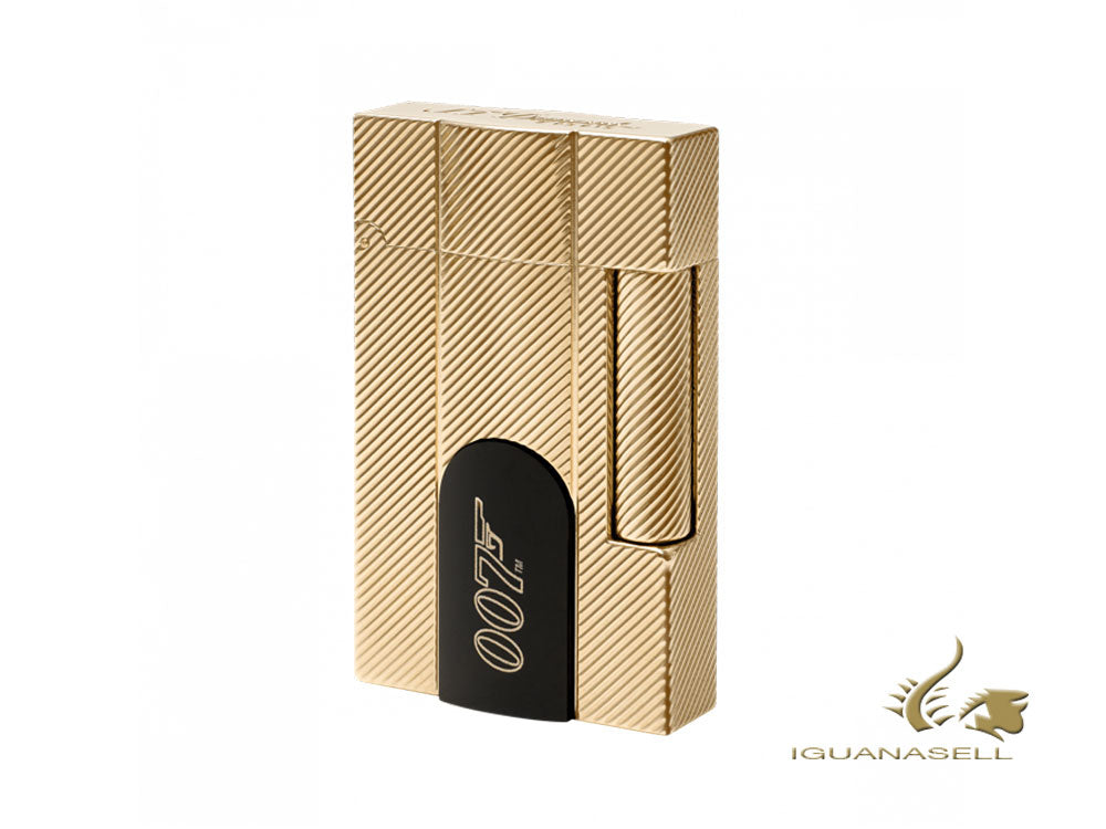 S.T. Dupont James Bond 007 Limited Edition Lighter, Gold PVD, 016115