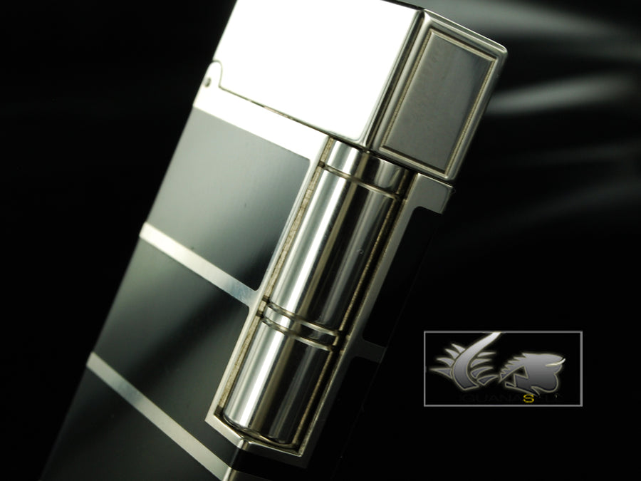 S.T. Dupont - Ligne 2 Lighter, Chinese lacquer, Palladium trim, 16788 S.T. Dupont - Collectors Corner Lighter