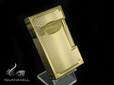 S.T. Dupont Ligne 2 Lighter, Gold, 16432