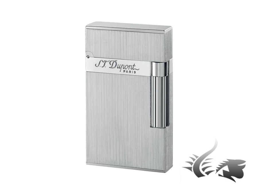 S.T. Dupont Ligne 2 Lighter, Brushed Palladium, Silver, 16404 S.T. Dupont Lighter