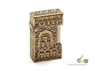 S.T. Dupont Limited Edition Catacombs Haute Création Lighter, Bronze, 016030 S.T. Dupont Lighter
