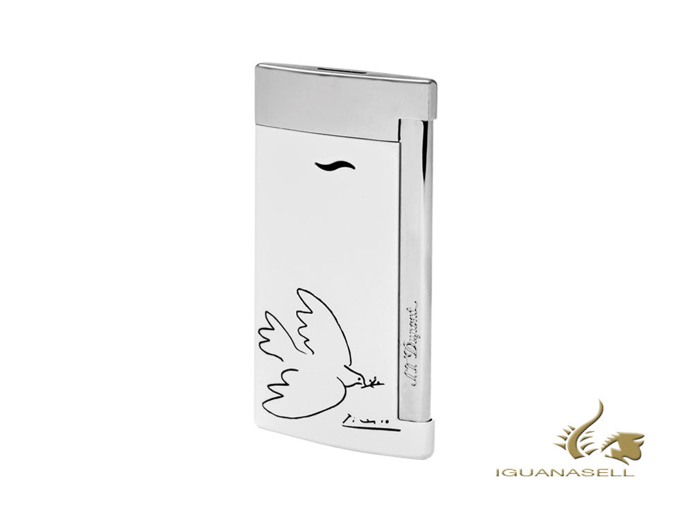 S.T. Dupont Limited Edition Dove of Peace Picasso Lighter, Lacquer, 027106