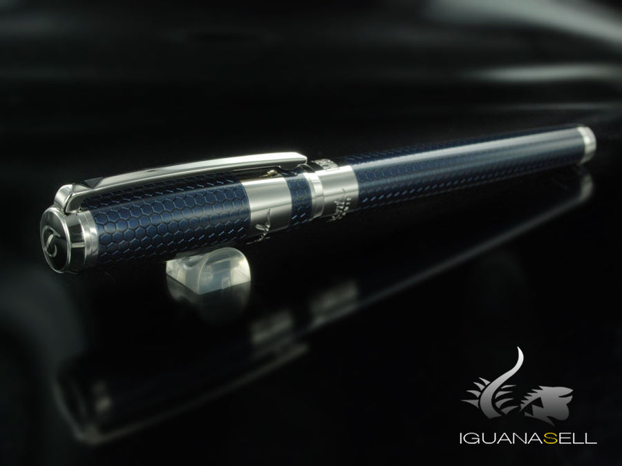 S.T. Dupont Iron Man Limited Edition Rollerball pen, Lacquer, Palladium, 412708 S.T. Dupont Rollerball pen