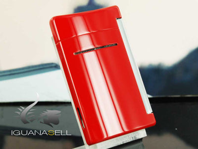 S.T. Dupont Minijet Lighter, Lacquer, Red 10029