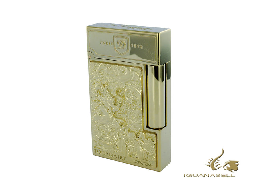 S.T. Dupont Monkey Prestige Haute Création Limited Edition Lighter, Gold, 016761 S.T. Dupont Lighter
