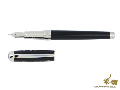 S.T. Dupont Picasso Limited Edition Fountain Pen, Chinese lacquer, 14K