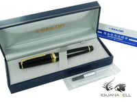 Sailor Professional Gear Gold Naginata-Togi Fountain Pen, 24k Gold trim