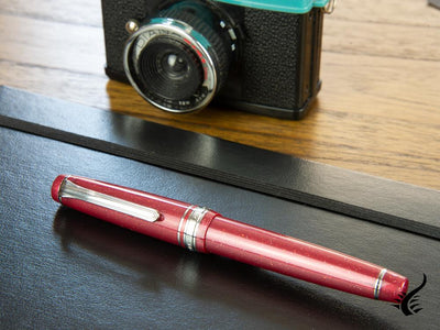 Sailor Professional Gear Slim Red Supernova Fountain Pen, Limited Ed.