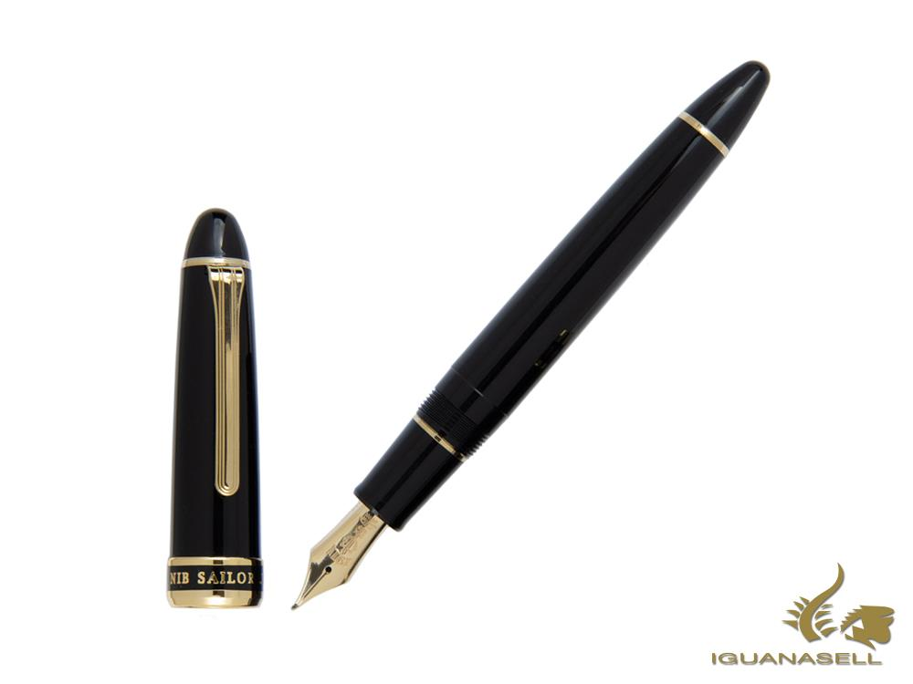 Sailor Special Nib Naginata Concord Fountain Pen, 21k Gold