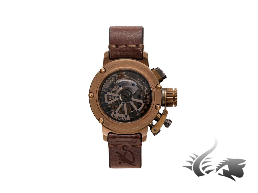 U-Boat Chimera Automatic Watch, Bronze, 43mm, Limited Edition, 8015