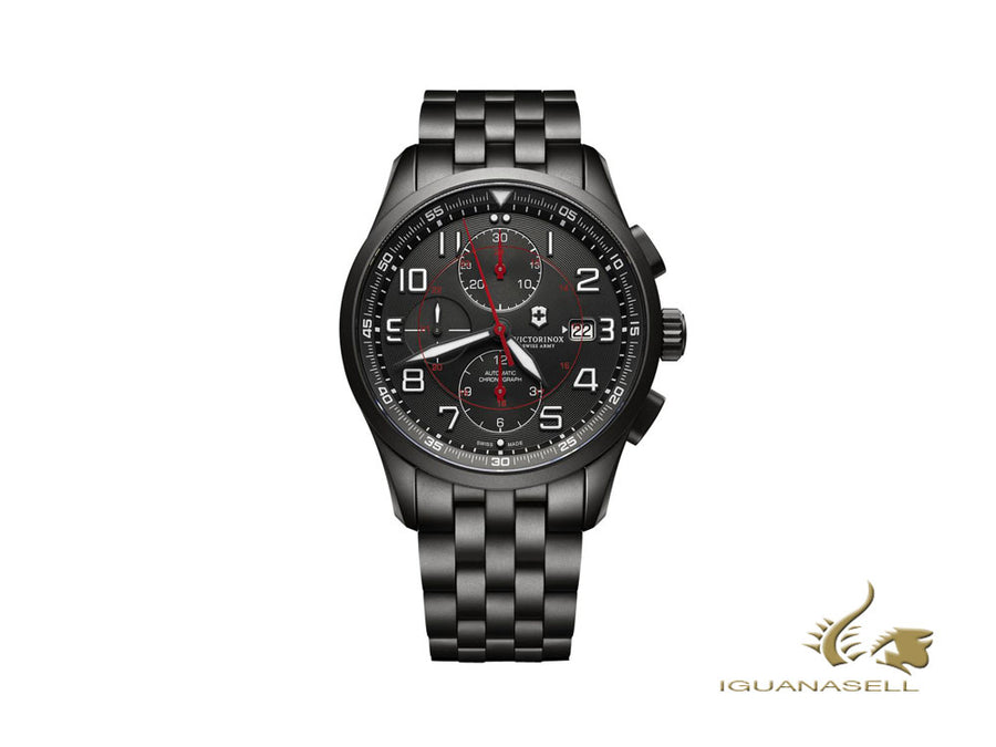 Victorinox Airboss Black Edition Automatic Watch, 42 mm, Chronograph, V241741 Victorinox Automatic Watch