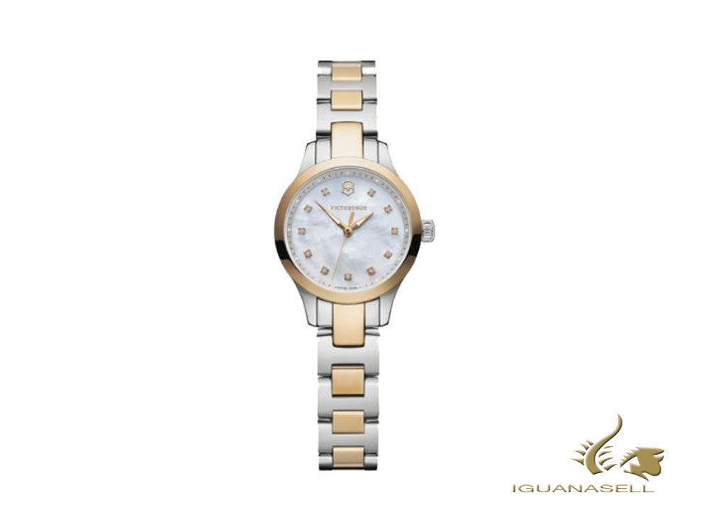 Victorinox Alliance Ladies XS Quartz Watch, White, 28mm, V241877,