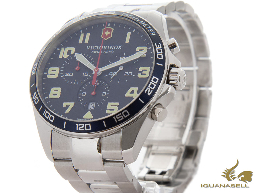 Victorinox Fieldforce Quartz Watch, Blue, 42 mm, Chronograph, V241857 Victorinox Quartz Watch