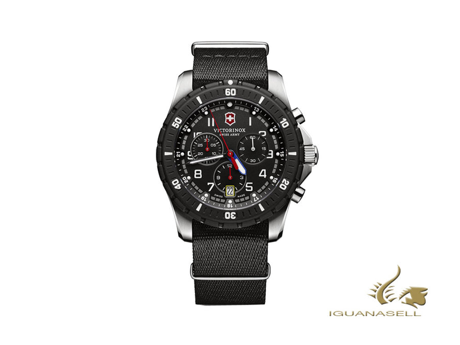 Victorinox Maverick Sport Quartz Watch, Black, 43mm, Chronograph, V241678.1 Victorinox Quartz Watch