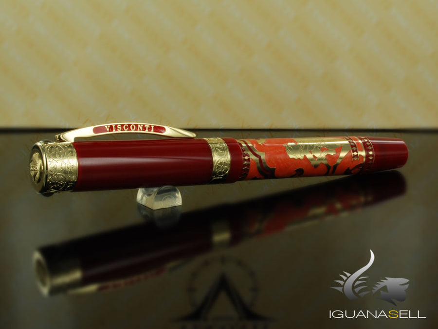 Visconti Kamasutra Fountain Pen, Gold trim, Limited Edition, 735ST03PD