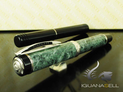 Visconti  Millionaire Marble Fountain Pen, Green, Marble, Limited Ed