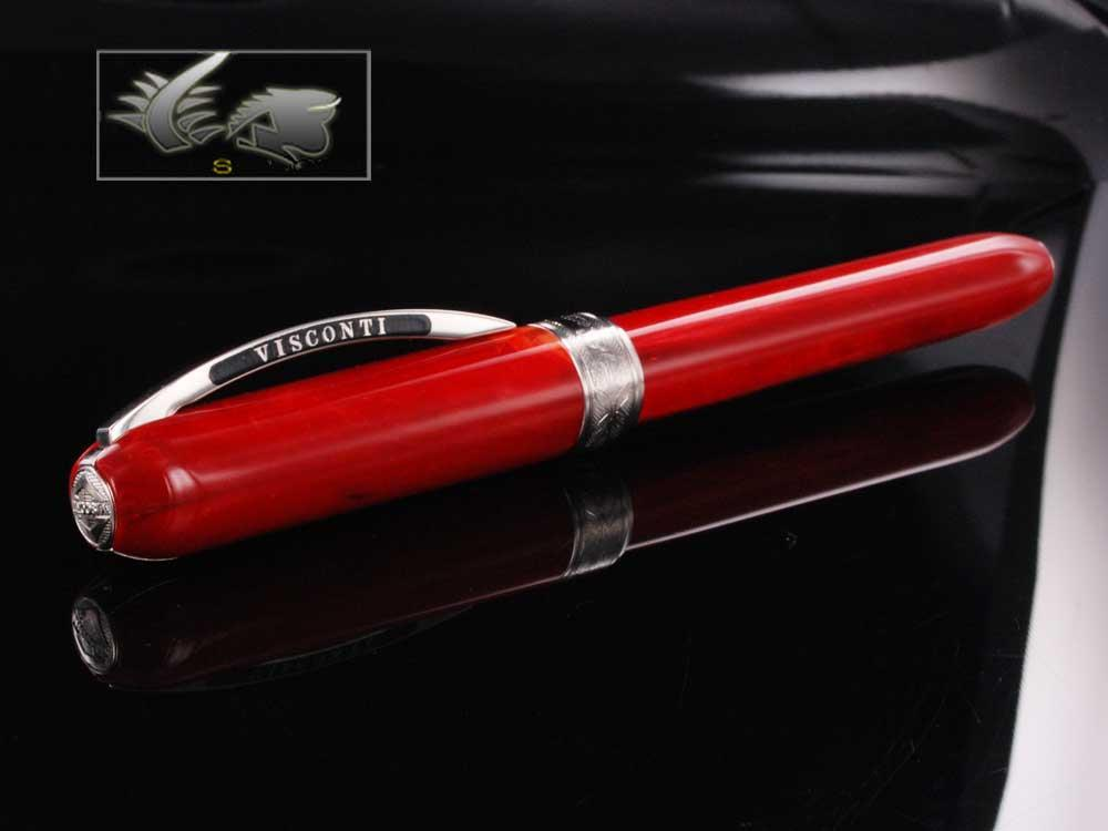 Visconti Rembrandt Rollerball pen, Acrylic Resin, Red, KP10-03-RB