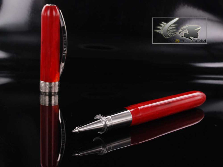 Visconti Rembrandt Variegated Red Resin Roller Pen Visconti Rollerball pen