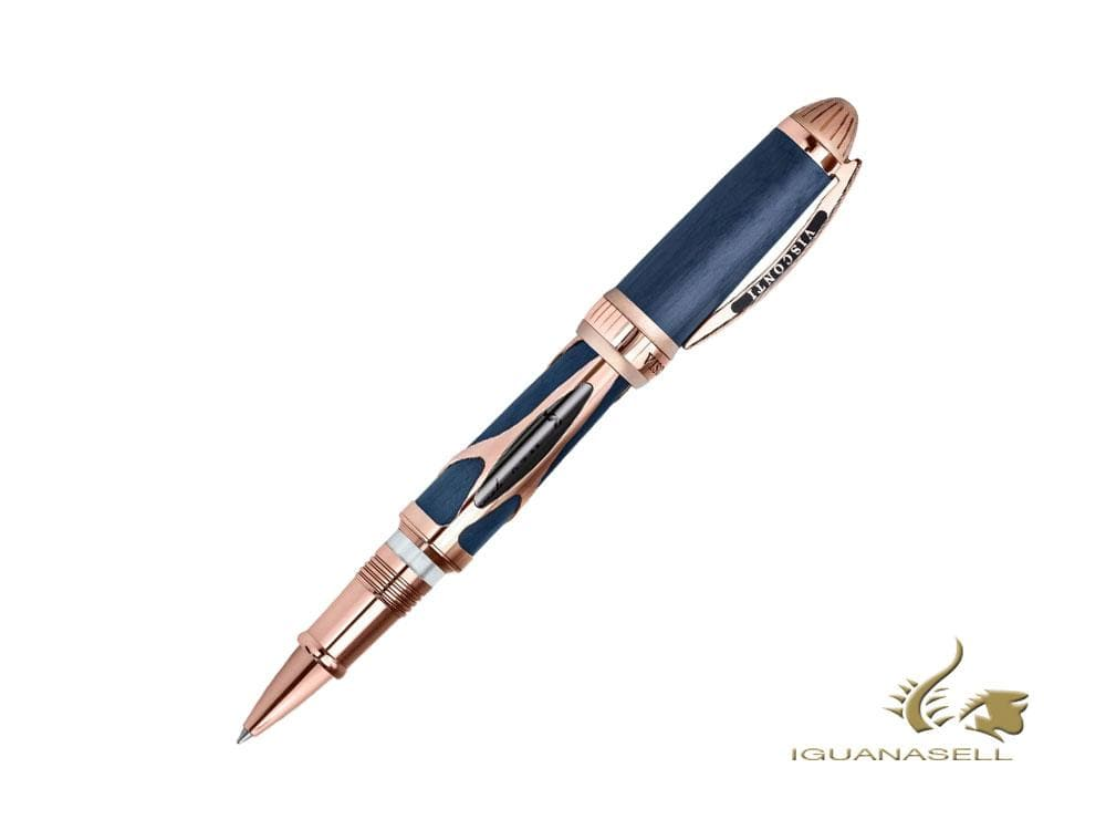 Visconti Torpedo Rollerball pen, Carbon, Limited Edition, Rose Gold, KP22-03-RB Rollerball pen