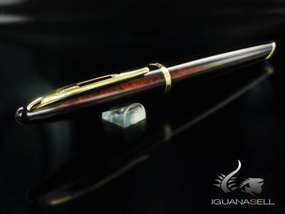 Waterman Carène Marine Amber Fountain Pen, Lacquer, Gold trim, S0700880