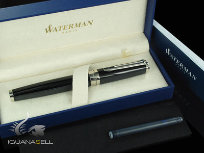 Waterman Exception Night & Day Fountain Pen, Silver trim, S0636840