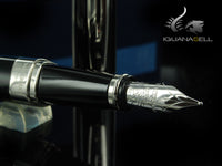 Waterman Exception Fountain Pen, Lacquer, Platinum Trim, S0709150