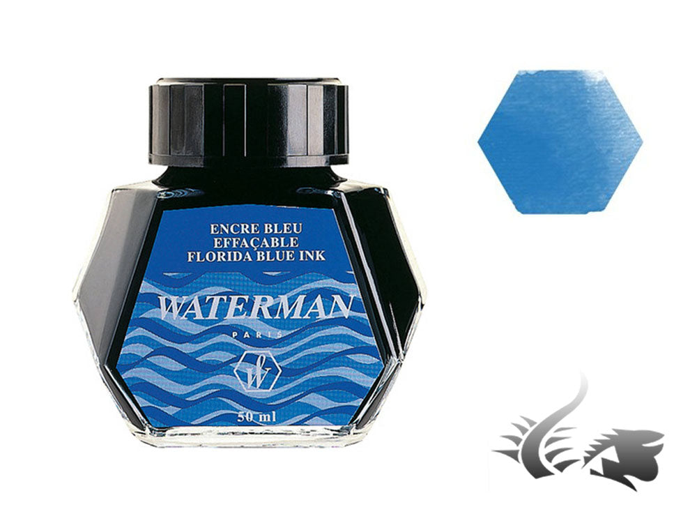 Waterman Ink Bottle, 50ml, Florida Blue, S0110720