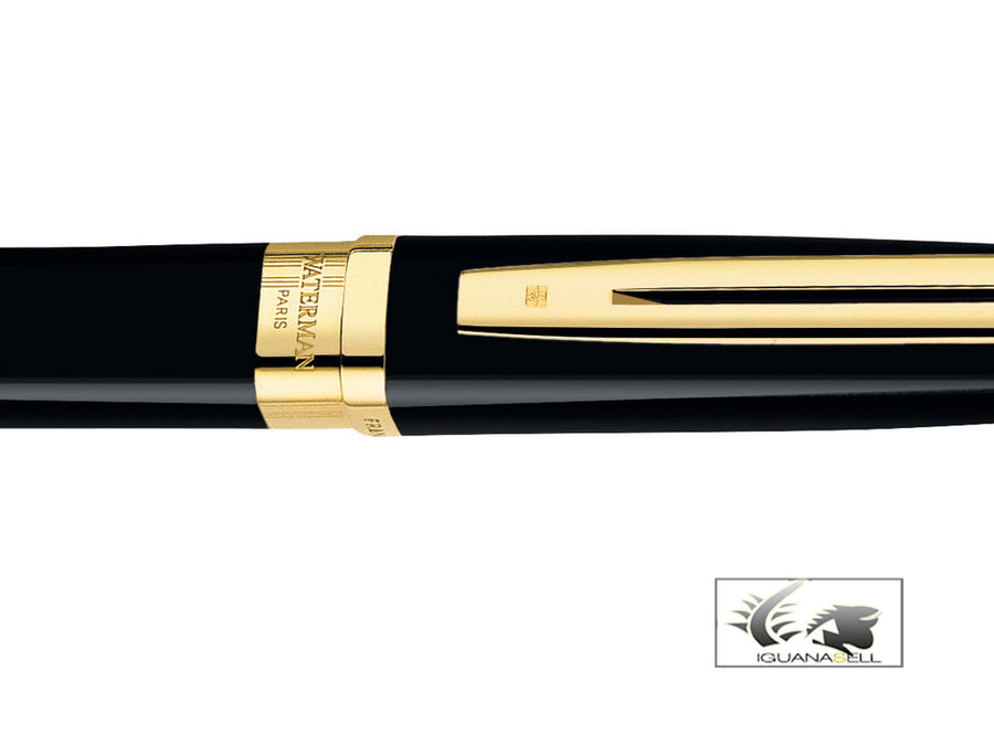 Waterman Rollerball Pen Exception Ideal - Golden Trims -S0636810 Waterman Rollerball pen