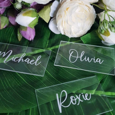 Table numbers & place names