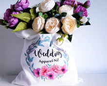 Load image into Gallery viewer, Personalised tote bags - custom floral designs
