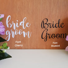 Load image into Gallery viewer, Bride & Groom