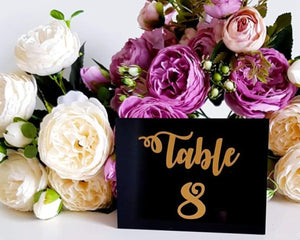 Classic Acrylic Table Number