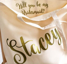 Load image into Gallery viewer, Personalised Totes - Will You Be My...