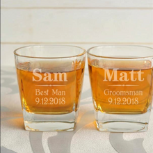 Load image into Gallery viewer, Personalised Whiskey Glasses