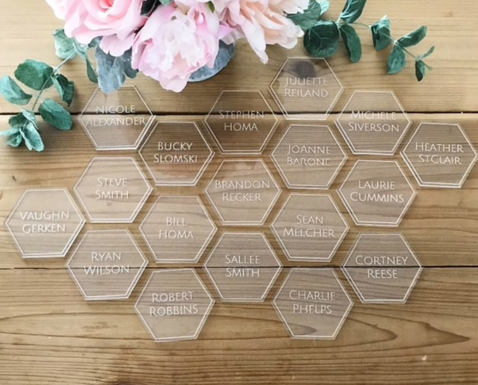 Place Names - Hexagon