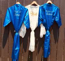 Load image into Gallery viewer, Royal Blue - Bridal robes for the entire team