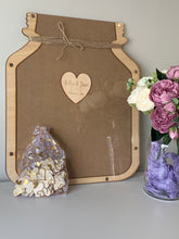 Load image into Gallery viewer, Personalised Guestbook - Mason Jar