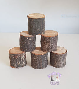 Wooden table card holders