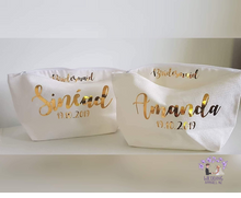 Load image into Gallery viewer, Personalised Cosmetic Bags