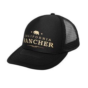 Adjustable Trucker Hat by California Rancher