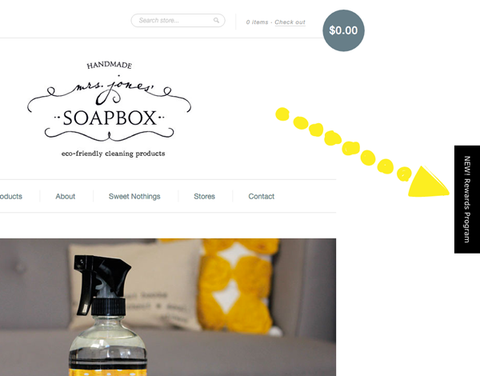 Mrs. Jones' Soapbox | Rewards Program