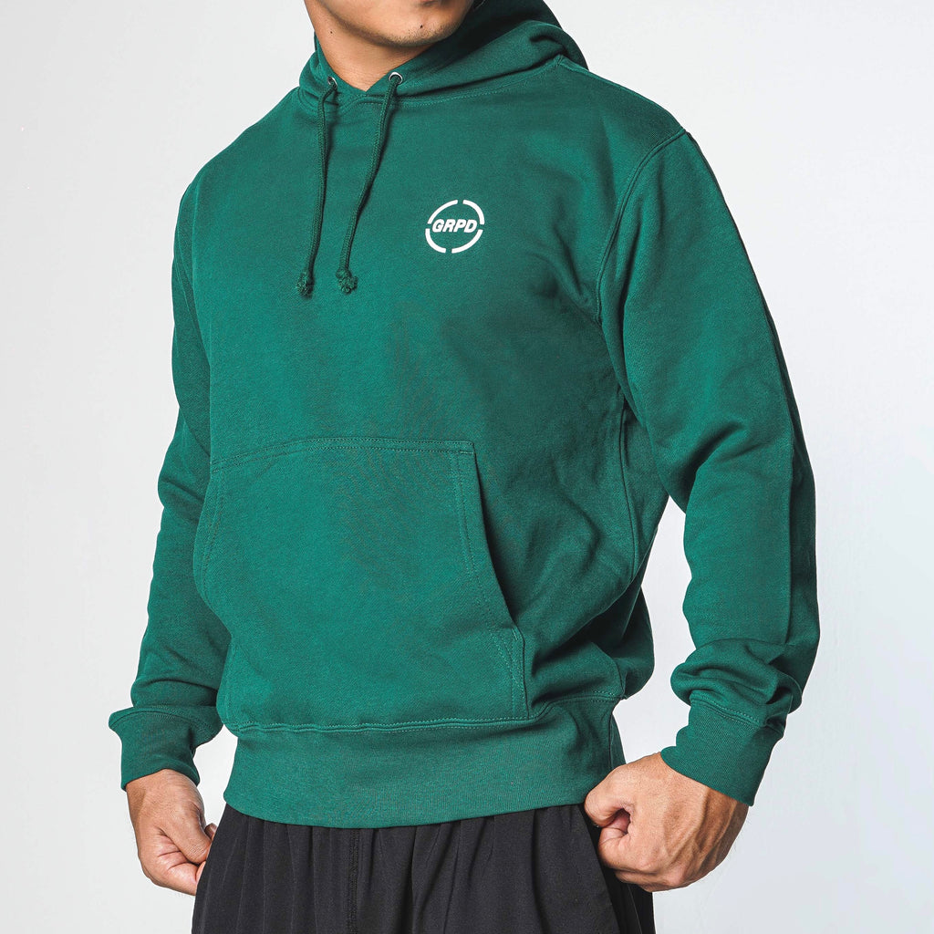 BIG LOGO HOODY / GREEN (CS-09)