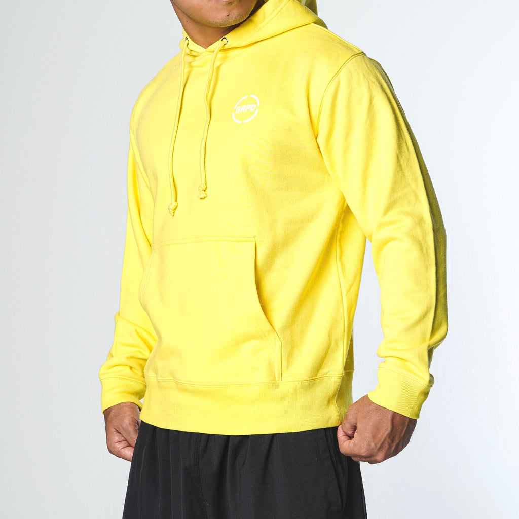 BIG LOGO HOODY / YELLOW (CS-09)