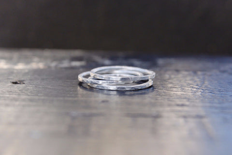 Sterling Silver Skinny Ring
