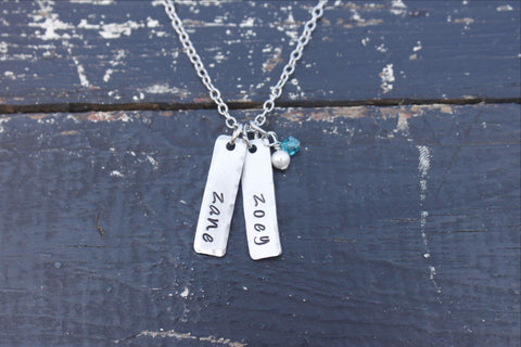 Single Tag Necklace