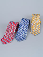 Bruno Piatelli Multi Check Silk Tie