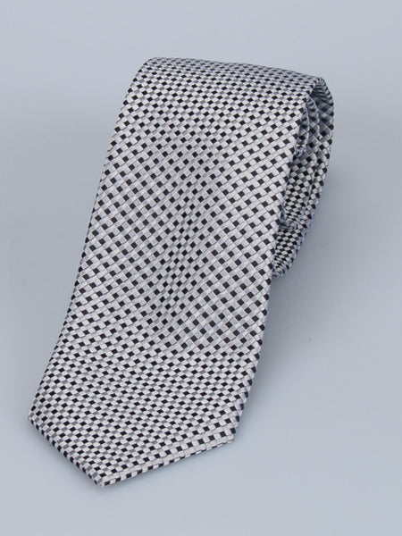 Bruno Piatelli Micro Check Silk Tie