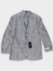 Tiglio Novello Jacket Silver Windowpane