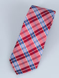 Bruno Piatelli Plaid Silk Tie